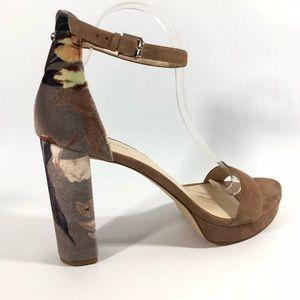 aeac53aea6f Nine West Shoes - Nine West Dempsey Platform Block Floral Fabric